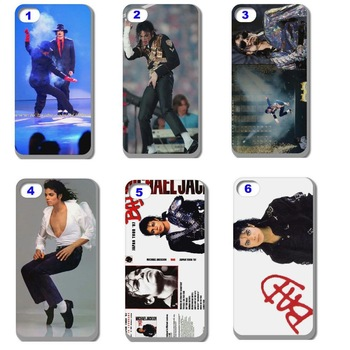 10pcs Michael Jackson MJ hard back case cover skin for iphone 4 4G 4S 4th Case Cover free shipping
