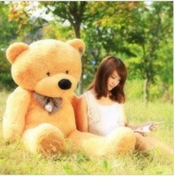 80 cm Lovers Teddy Bears Dolls Stuffed Plus Animals Dolls Girls Birthday Gifts 100% PP Cotton