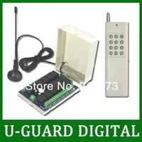 2000M 12 Channels 315/433MHz DC 9V/12V/24V Wireless Remote Switch - Transmitter & Receiver - 11 Control Modes