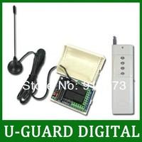 2000M 4 Channels 315/433MHz DC 9V/12V/24V Wireless Remote Switch - Transmitter & Receiver- 4 Control Modes