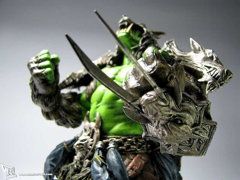 "9"" Orc Shaman DC1 REHGAR EARTHFURY Collector  Figure, Model, WOW / World of Warcraft world,Rerail & Wholesale, Same Day Shipping"