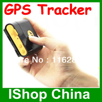 GPS Portable Tracker----Waterproof Ipx6 + SOS button+Mini Size+Reply Detail Adress, Google Link or Longitude and Latitude by SMS