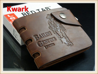 new  fashion genuine  leather men's wallet & card holder  purse for gift  Free shipping retail or wholesale kk002