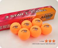 6PCS DHS 3 Star Table Tennis  Balls C.T.T.A
