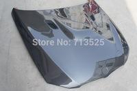 for BMW 3-Series Sedan E90 2009 up change to E90 M3 look car front engine hood bonnet carbon fiber  m3 style