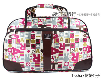 2013 Fashion Travel duffel bag Totes Canvas luggage waterproof portable travel bag large capacity Free Shipping TB0010