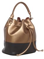 Top quality 2014 new styles color bock handbags, women genuine leather bucket handbags, custom logo free shipping