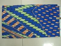 6yards cotton fabric super wax hollandais 100% african wax  batik fabric for sewing patchwork fabric