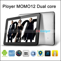 Ployer MOMO12 Dual core RK3066 1.6G 10 inch 1280 x 800 HD screen Tablet pc with 1G RAM 16G storage Dual Camera HDMI