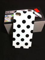 Free shipping Polka Dot for iphone4 4s TPU phone shell  Preferential