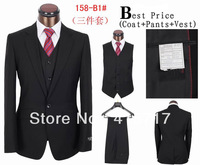 Top Branded Man Business Suits,3 piece suits,coat+pants+vest,Fashion Dress Suits for Men
