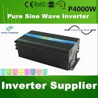 Solar Inverter 4000w/4kw  DC 12v to AC 220V , Pure Sine Wave  for Solar Energy / Wind Energy