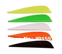 2.25Inch DIY arrow vane wing Plastic feather archery bow arrow shooting 100pcs for sale