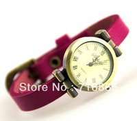 2013 Free shipping 8 color Cowhide watches choose retro leather  fashion women watches luxury for lady watch