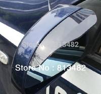 2 New Smart Flexible Plastic Car Rain Shield Rear View Side Mirror Rain Shield Shower Blocker Cover Sun Visor Shade Guard