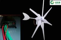 Wholesales high cost-effective 6 blades 300w wind power genetator turbine windmill +wind charger regulator controller
