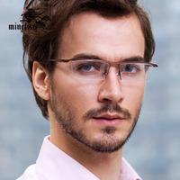 Sports eyewear tr90 titanium myopia glasses frame comfortable slip-resistant eyeglasses frame