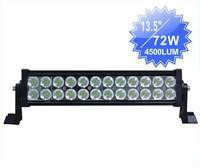 Wholesale - 2pcs 72W 12V & 24V LED Work Light 4WD 4x4 Spot Flood Car Truck SUV Offroad Fog Driving Lights