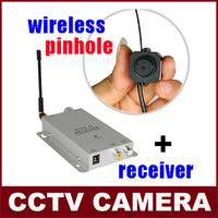 1.2GHz Wireless Mini Camera + Wireless Video&Audio  Receiver CCTV Camera Kit  Free Shipping