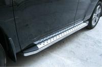 Side step bar running board for Toyota Highlander 2009-2012,Aluminium alloy,Free Shipping