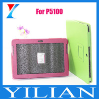 For Samsung Galaxy P5100 case,PU leather For Galaxy tab 2 P5100
