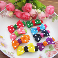Fashion Kid's / Infant / Baby  Girls Hair Accessories Hair Bows Hair Clips Hair Jewelry 8 Color Mix