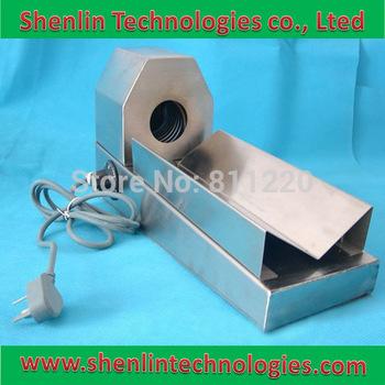 Handy manual portable shrinking packing tool bottle cap sleeve,plastic film flame shrinker,capsuler wrapping packaging machine