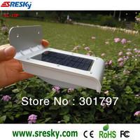 16 LED solar light PIR motion sensor waterproof IP65 wall garden yard solar light