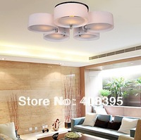 Free Shipping Acrylic Ceiling Light s With 5 Lights (Chrome Finish) Lighting Fixtures for Indoor Lighting