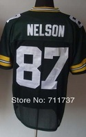 #87 Jordy Nelson Jersey,Elite American Football Jersey,Stitched Logo Embroidery Sport Jersey Cheap Authentic Jersey