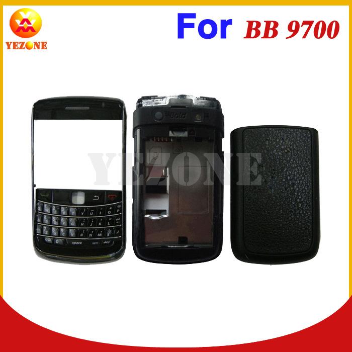 Черный Новый Оригинальный Полный Полный Корпус/Корпус/Крышка + Клавиатуры Для BlackBerry Bold 9700 Черный Цвет Бесплатная Доставка deuter giga blackberry dresscode
