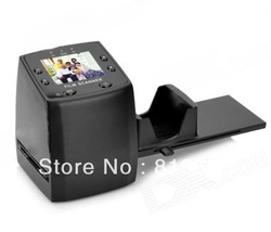 "5MP Digital Film Negative Photo Scanner / Converter 35mm USB LCD Slide 2.4"" TFT Negative and Slide Film Scanner - Black(China (Mainland))"