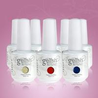 36pcs DHL free shipping Gelnail factory wholesales gel nail (32 color gel +2 base coat+2 top coat) gel nail polish soak off