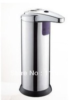 stainless steel Automatic Sensor Cream Sanitizer & Soap Dispenser Infrared Handfree Touchless Free Shipping ,Dropping ZF015