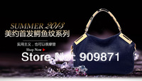free shipping 2013 new tide female bag Special offer LEATHER restore ancient inclined big bag