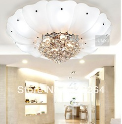 27*80cm diamater free shipping best selling modern simple crystal ceiling chandelier lights with Name Brand(China (Mainland))