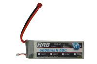 New 11.1V 6000mAh 50C Max 55C 3S 3Cells 11.1 Volt RC LiPo Li-Poly Battery Free Shipping