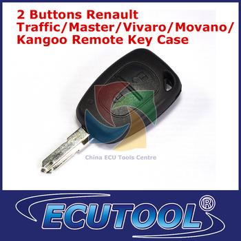 High Quality Replacement 2 Button Renault Traffic/Master/Vivaro/Movano/Kangoo Remote Key Case Empty Key Shell Car Keys