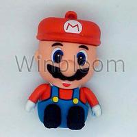 Mario Bro USB Flash Drive 4GB 8GB 16GB 32GB Real Capacity PVC Pen Drive HKPAM DHL Simple Shipping Solution For Mix Order