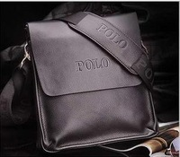 2013 New Arrived  genuine leather men bag fashion men messenger bag bussiness bag