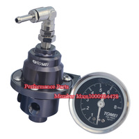 Top Quality Tomei FPR Fuel Pressure Regulator AN6 With Gauge (Type-S)