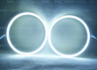 Angel Eyes Super LED Light Ring For Car Headlights Motorcycle 70MM 5W x 2 (one pair) White /Amber /Red /Green /Blue