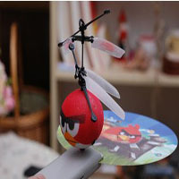 Free Shopping Children's toys flying saucer remote  birds intelligent suspension UFO helicopter remote induction flying saucer