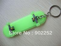 Luminous finger skateboard keychain,mini skateboards,kid skateboards