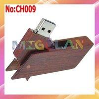 Free shipping Wholesale 1GB 2GB 4GB 8GB 16GB 32GB 64GB Wooden usb flash drive with Original chip+Dropshipping #CH009