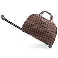 Free shipping trolley bag luggage travel bags metal hand trolley travel bag trolley luggage men luggage & travel bags