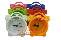 Free shipping!! Patented product New arrival Lovely silicone alarm clock.