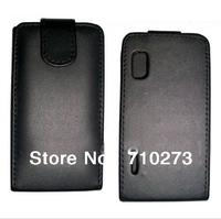 Flip PU Leather Case for LG Optimus L5/E610 E612 E615 Case phone cover pouch guard,1pcs/lot+free shipping