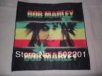 Free Shipping!! Bob Marley Bandana 100% polyester microfibre 2