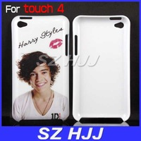For Apple iPod Touch 4 One Direction Case Free shipping via DHL or EMS